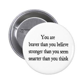 Braver 2 Inch Round Button
