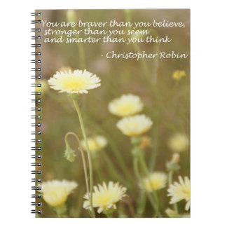 Braver than you Believe. . . - Notebook