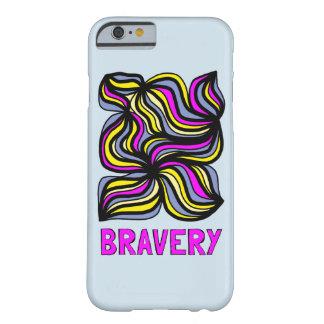 """Bravery"" Glossy Phone Case"