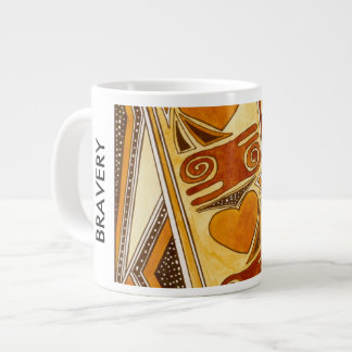BRAVERY LARGE COFFEE MUG