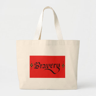 Bravery Large Tote Bag