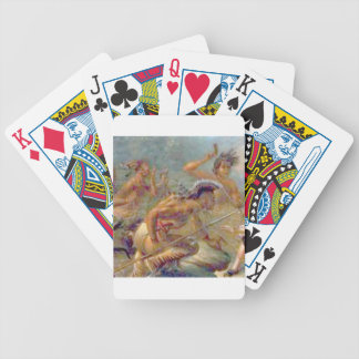 braves in battle bicycle playing cards