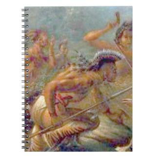 braves in battle notebooks