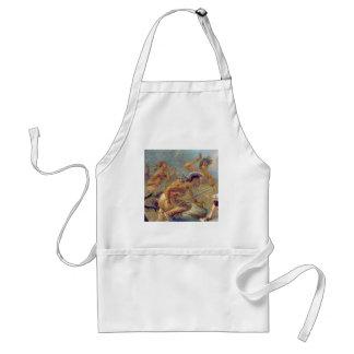 braves in battle standard apron