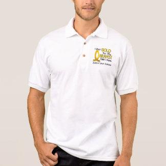 Bravest Child I Know Childhood Cancer Polo Shirt