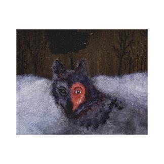 Bravewolf Canvas Print