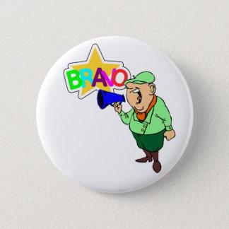 BRAVO 2 INCH ROUND BUTTON