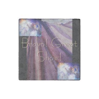 Bravo! Great Show! Stone Magnets