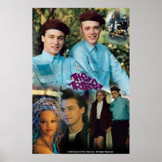 Bray, Ebony, Trudy, Martin (Zoot) before the virus Poster