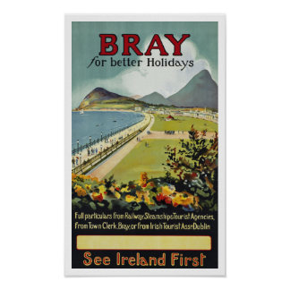 Bray For Better Holidays Poster
