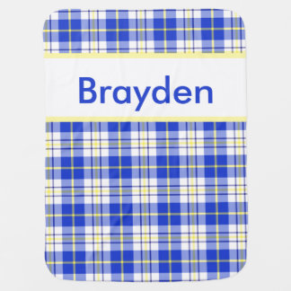 Brayden's Personalized Blanket