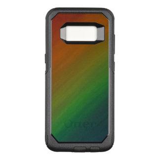 Brazen Tech   Rainbow Ombre Stylish Abstract Pride OtterBox Commuter Samsung Galaxy S8 Case