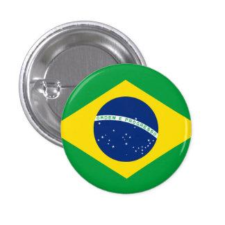 Brazil 1 Inch Round Button