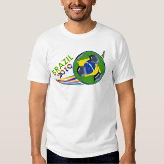 Brazil 2010 Soccer Shirt
