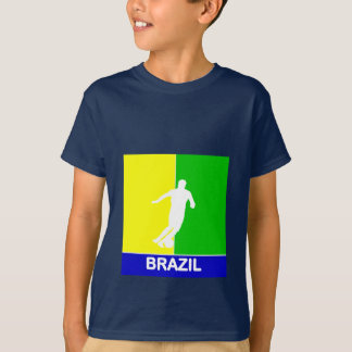 Brazil 2010 soccer Youth T-shirt