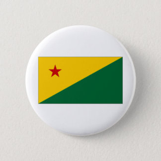 Brazil Acre Flag 2 Inch Round Button