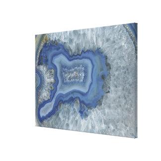 Brazil agate quartz 2 canvas print