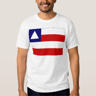 Brazil Bahia Flag Tshirts
