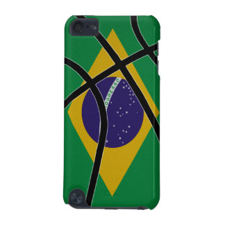 Brazil Basketball iPod Touch Case