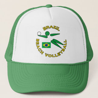 Brazil Beach Volleyball Trucker Hat