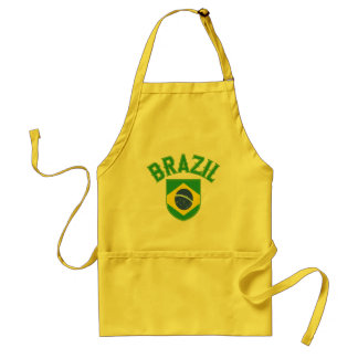 Brazil Big and Bold Standard Apron