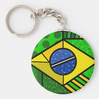 Brazil Brazil brazilian flag Keychain
