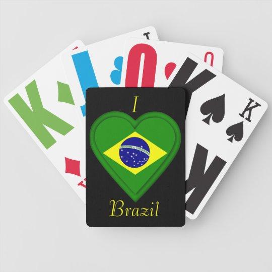 Brazil Brazilian Flag Poker Deck