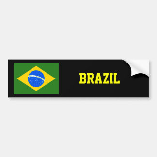 Brazil Bumper sticker Superstar design