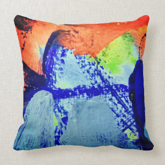 brazil by ines de andrade throw pillow