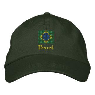 Brazil Cap - Brazilian Flag Hat
