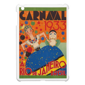 Brazil Carnival 1933 Vintage World Travel Poster Cover For The iPad Mini