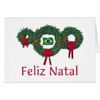 Brazil Christmas 2 Greeting Card