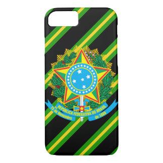 Brazil coat arms iPhone 8/7 case