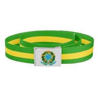Brazil coat of arms belt