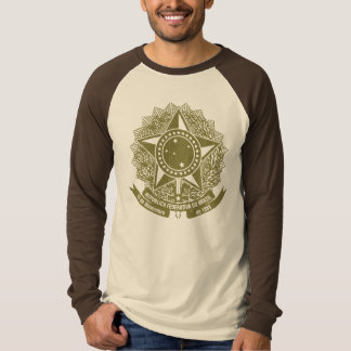 Brazil Coat of Arms Vintage T-Shirt