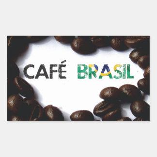 Brazil coffee sticker