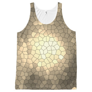 Brazil collection - Thewalk- Yellow vers - Unissex All-Over-Print Tank Top