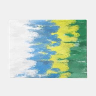 Brazil Colors Art Door Mat