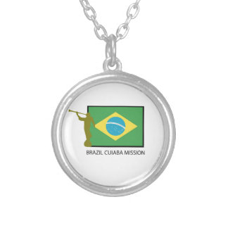 BRAZIL CUIABA MISSION LDS SILVER PLATED NECKLACE