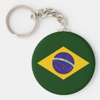 Brazil diamond - emblem of the Brazilian flag Keychain