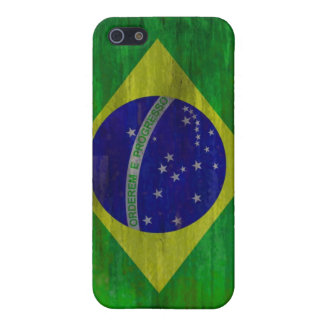 Brazil distressed Brazilian flag iPhone 5 Cases
