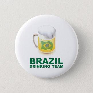 Brazil Drinking Team 2 Inch Round Button