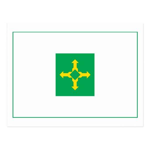 Brazil Federal District Flag Postcard