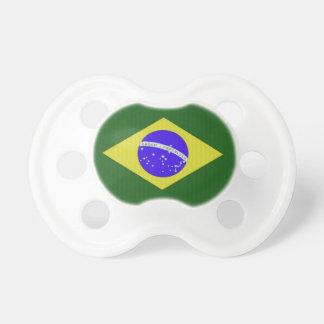 Brazil Flag Baby Pacifier
