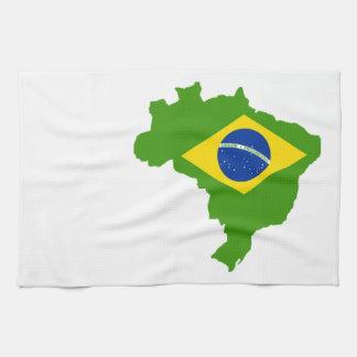 Brazil flag Brazil Towel