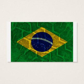 Brazil Flag Business Card