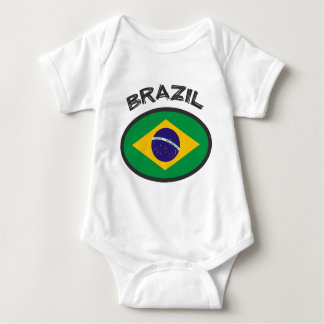 Brazil Flag - Cool Design! Baby Bodysuit