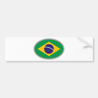 Brazil Flag - Cool Design! Bumper Sticker