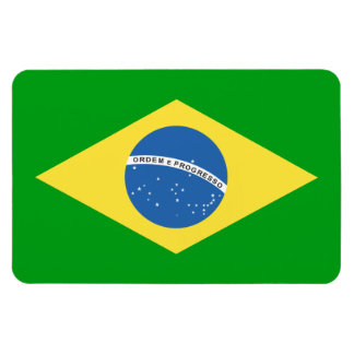 Brazil Flag Design Magnet