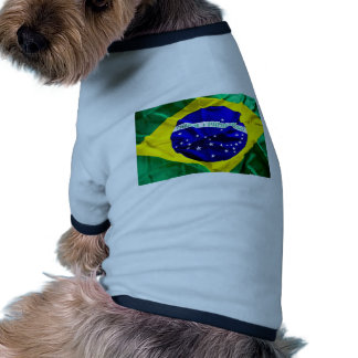 brazil-flag pet tee